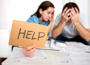 Get help with delinquent debt