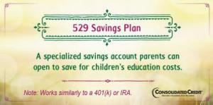 College savings plan financial literacy tip