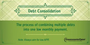 Debt consolidation financial literacy tip