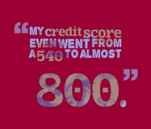 Credit score boost from debt elimination