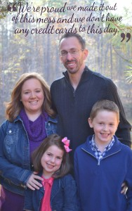 Susie and her family live without credit cards