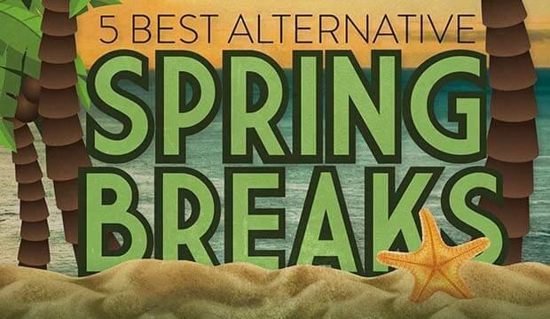 Infographic: The 5 Best Alternative Spring Breaks