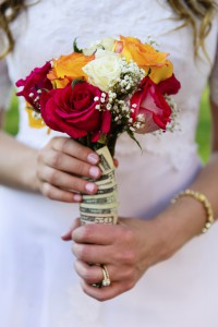 Walking down the aisle with debt or a healthy outlook?