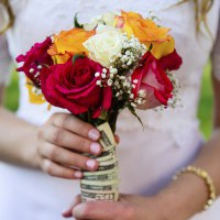 Try to avoid walking down the aisle with debt
