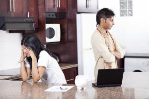 The stress of a break up is only complicated by financial issues