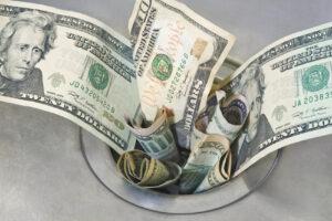 Poor money habits throw your dollars down the drain