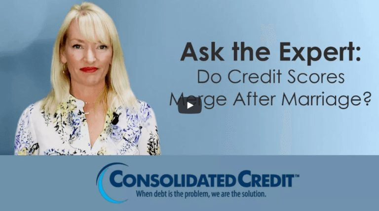 Ask the Expert: Do credit scores merge after marriage?