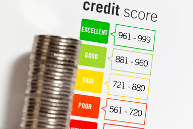 money with credit score listing