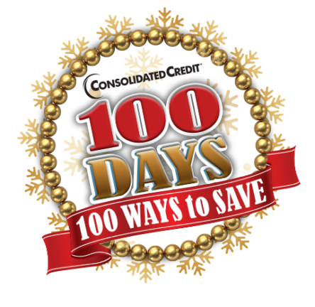 Consolidated Credit: 100 Days, 100 Ways to Save