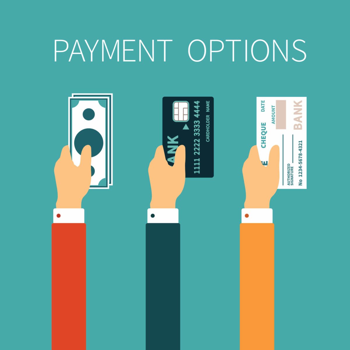 What's your preferred payment method?