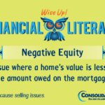 Financial Literacy - Wise Up! Home Equity: An issue where a home's value is less than the amount owed on the mortgage