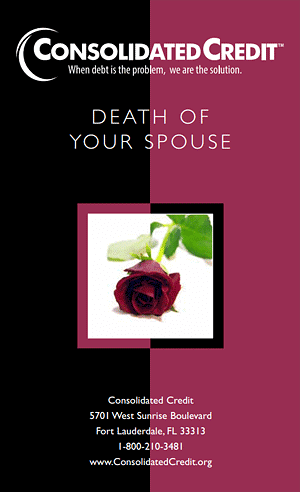 Death of Your Spouse Booklet