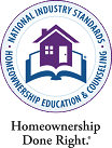 Open popup window about The National Industry Standards for Homeownership Education and Counseling