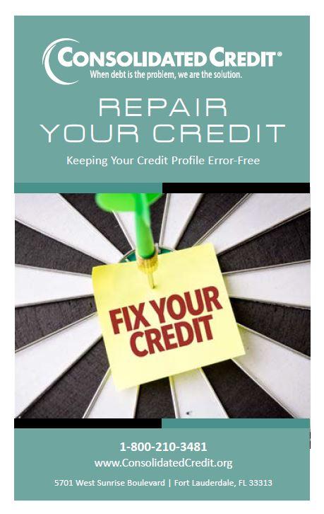 Repair Your Credit: Keeping Your Credit Profile Error-Free