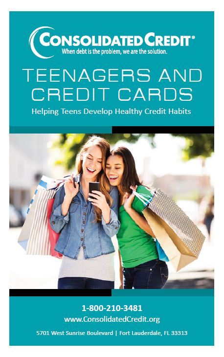 Teenagers and Credit Cards: Helping Teens Develop Health Credit Habits