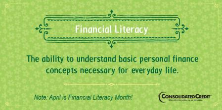Financial literacy tip