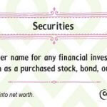 Securities financial literacy tip
