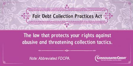 FDCPA financial literacy tip