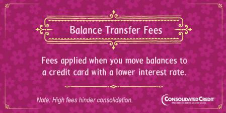 Balance transfer fee financial literacy tip