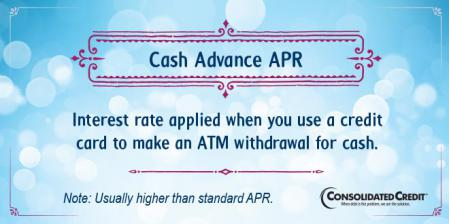 Cash advance APR financial literacy tip