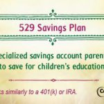 College savings plan financial literacy tip