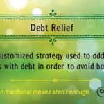 Debt relief financial literacy tip