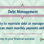 Debt management financial literacy tip