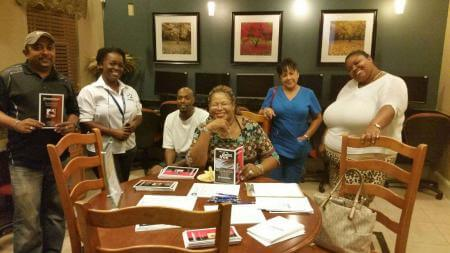 A seminar on How to Survive the Holidays was presented at The Glen at Lauderhill Clubhouse by Charmaine Williams of Consolidated Credit. Residents enjoyed the valuable information on strategies to avoid overspending, about creative gifting and much more.
