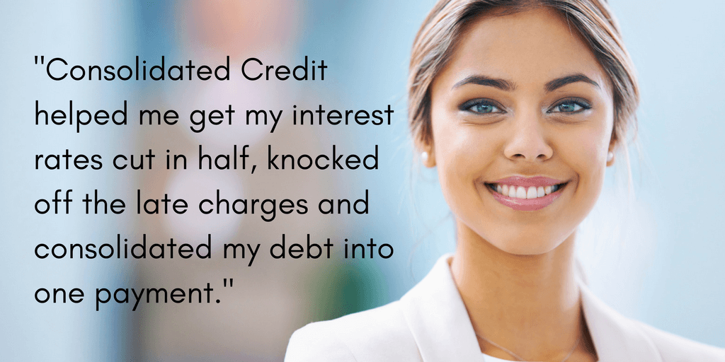 Barbara found relief through Consolidated Credit