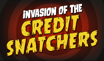 View Consolidated Credit's Invasion of the Credit Snatchers infographic