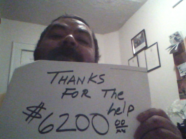 Edwin Fontanez: Thanks for the help - $6,200