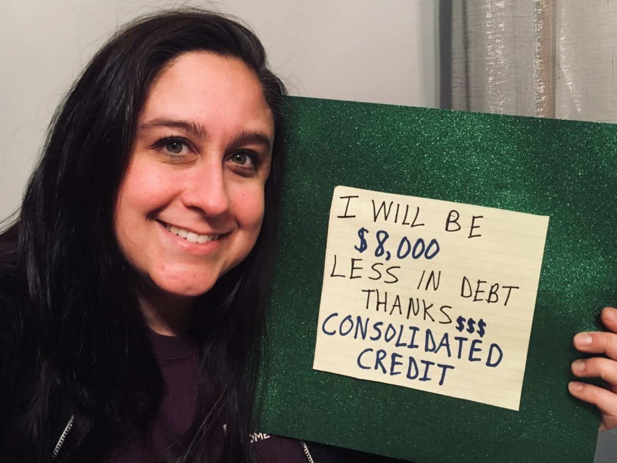 Stephanie Wilkerson: I will $8,000 less in debt thanks to Consolidated Credit