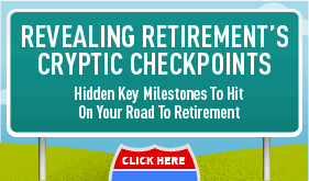 Goes to page displaying info graphic on retirement checkpoints