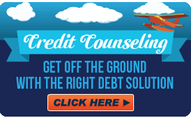 Goes to page displaying info graphic on how to find the right debt solution for your financial situation