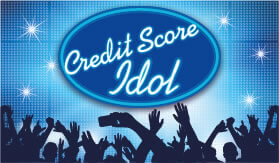 Goes to page displaying info graphic on how to become the next credit score idol