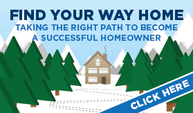 Goes to page displaying info graphic on a step by step walk-through for the home buying process