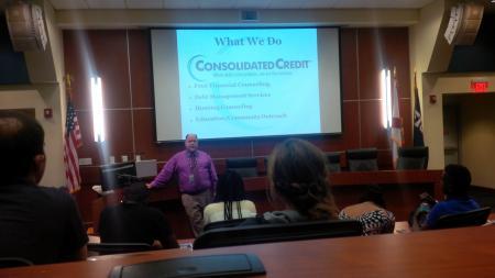 Florida International University in Miami (FIU) hosts Jorge Ruiz of Consolidated Credit.