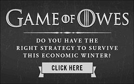 Goes to page displaying info graphic on how if your finances mirror the show, Game of Thrones, you may need help