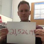 Photo of Chris saving $21526.19