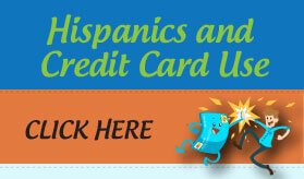 Goes to page displaying info graphic on how Hispanics feel about and use credit cards