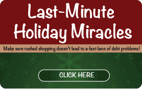 Goes to page displaying info graphic on last minute holiday miracles