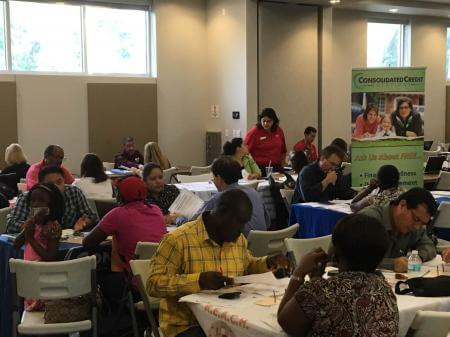 Consolidated Credit Housing Counselors met with homeowners at the HOPENOW event in Fort Lauderdale, FL. Housing counselors and lenders were on hand to assist homeowners with the steps needed to resolve their mortgage challenges.