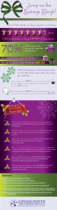 Graphic displaying tips for saving money and increasing income for the holidays