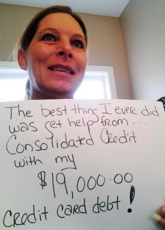 Photo of Suzanne saving $19000