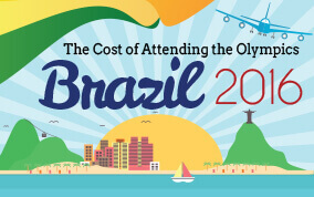 Goes to page displaying info graphic on how much people will spend to enjoy the Rio Olympics