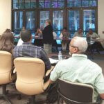 Maria Gaitan of Consolidated Credit presented a seminar on Credit to the small business owners participating in the Business Readiness Certification Program organized by Paragon, Inc. in West palm Beach, FL.