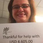 Photo of Patricia saving $4605