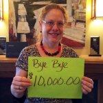Photo of Angie saving $10000