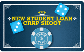 Goes to page displaying info graphic on the new student loan crap shoot