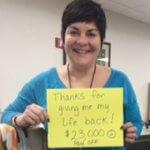 Photo of Karla saving $23000